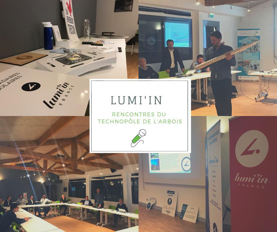 Présentation de Lumi'in à Aix-en-Provence / 07-03-2019