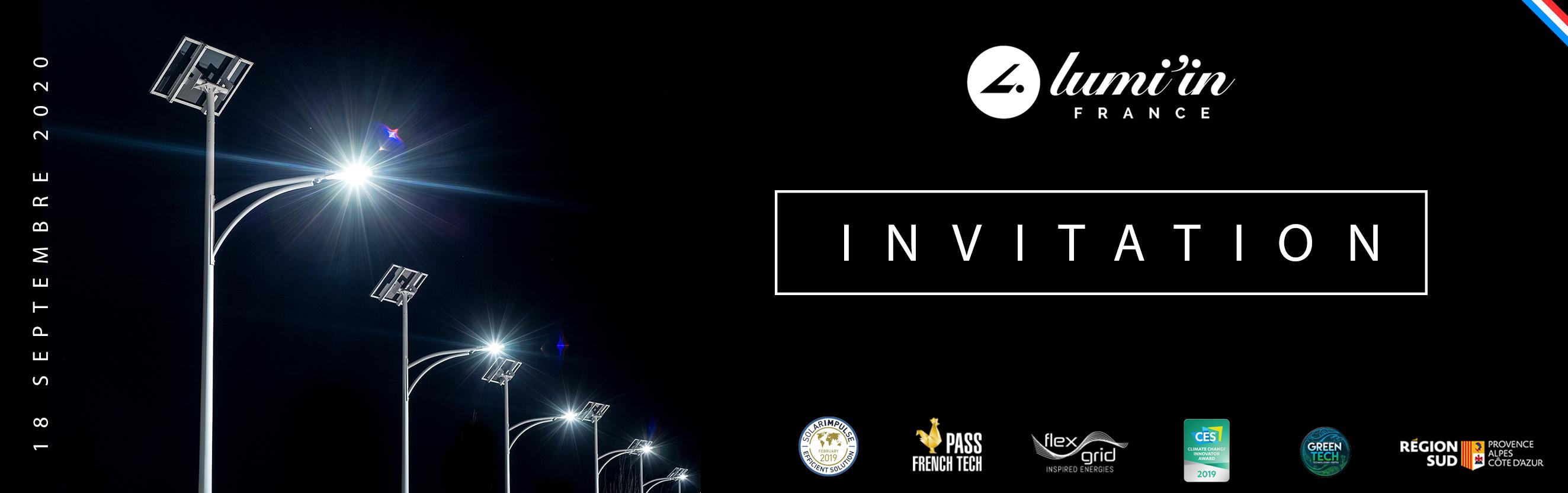 Invitation 18 septembre 2020 : Inauguration de nouveaux locaux