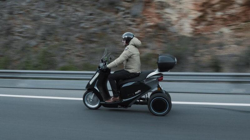 3 roues électrique - eccity® - Electric 3 wheelers - scooter 3 roues
