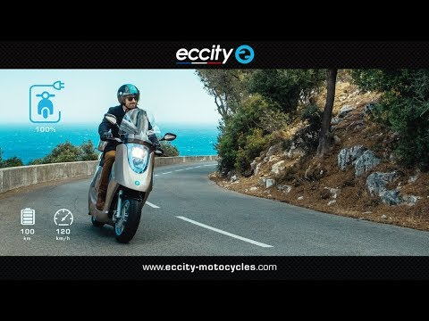Le scooter électrique français catégorie 50 et 125.