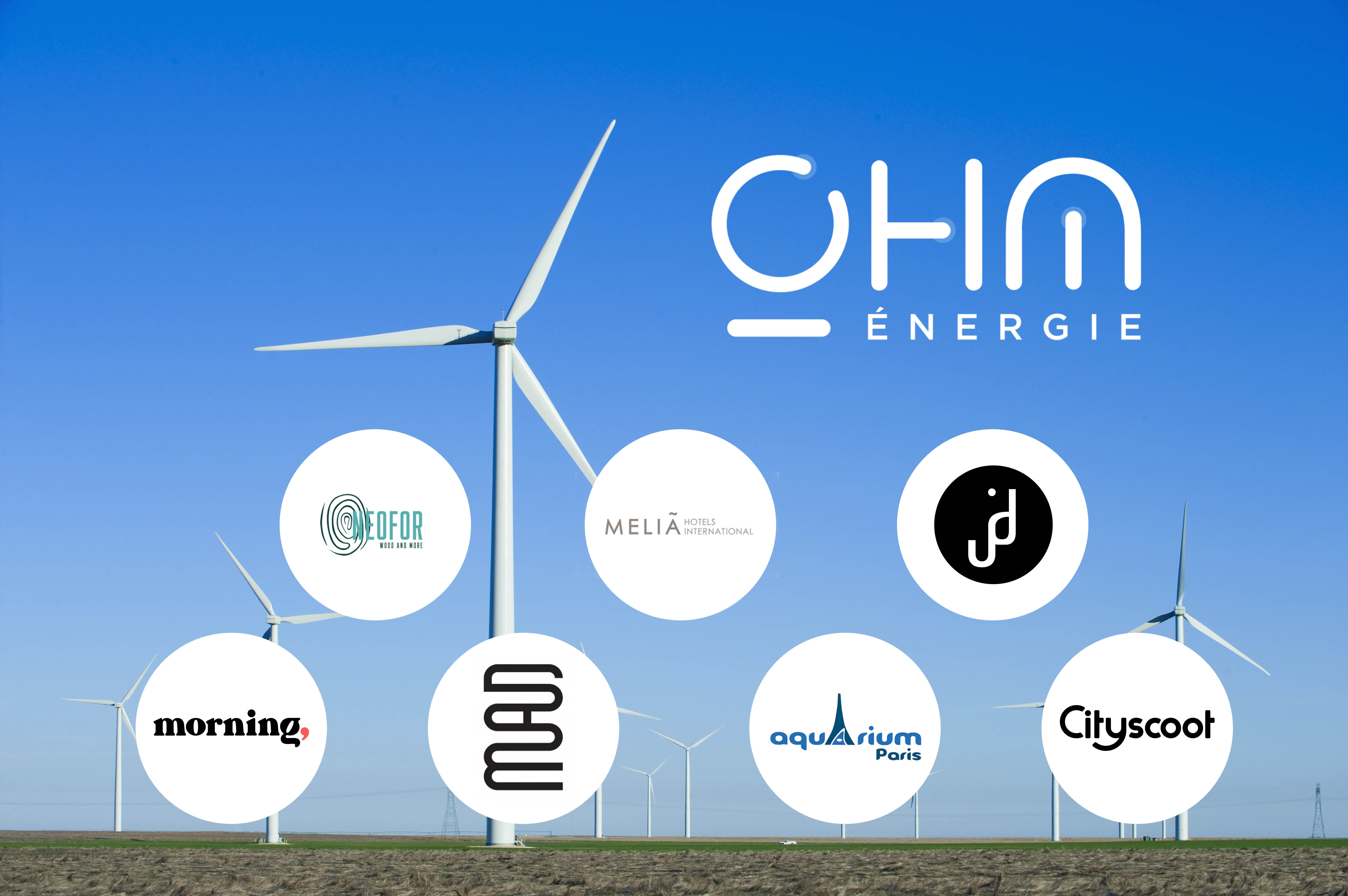 ohm energie se lance dans le B to B et dispose déjà de belles références