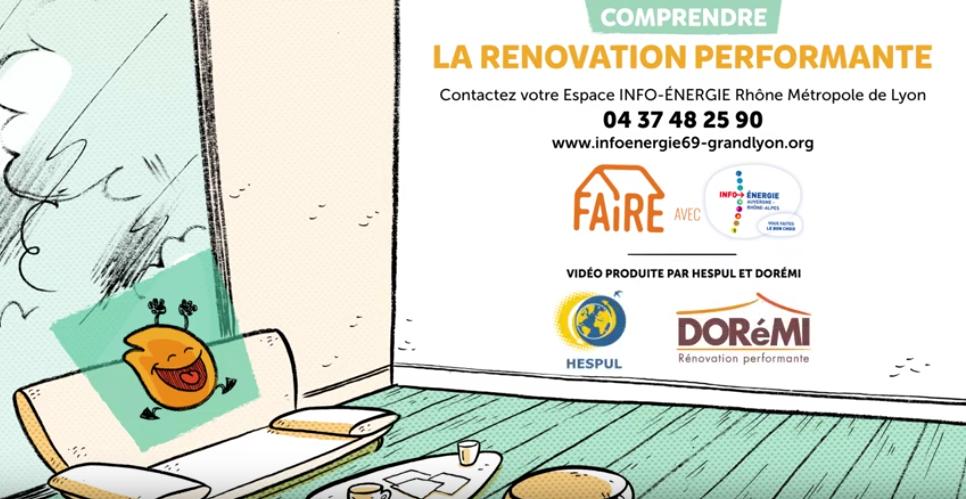 La renovation performante Doremi & espace info-énergie du Rhône