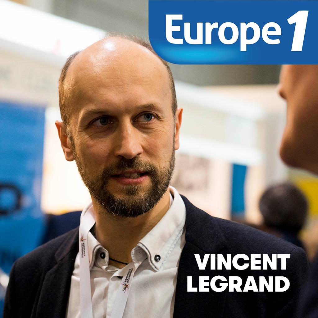 Vincent Legrand sur Europe 1 !