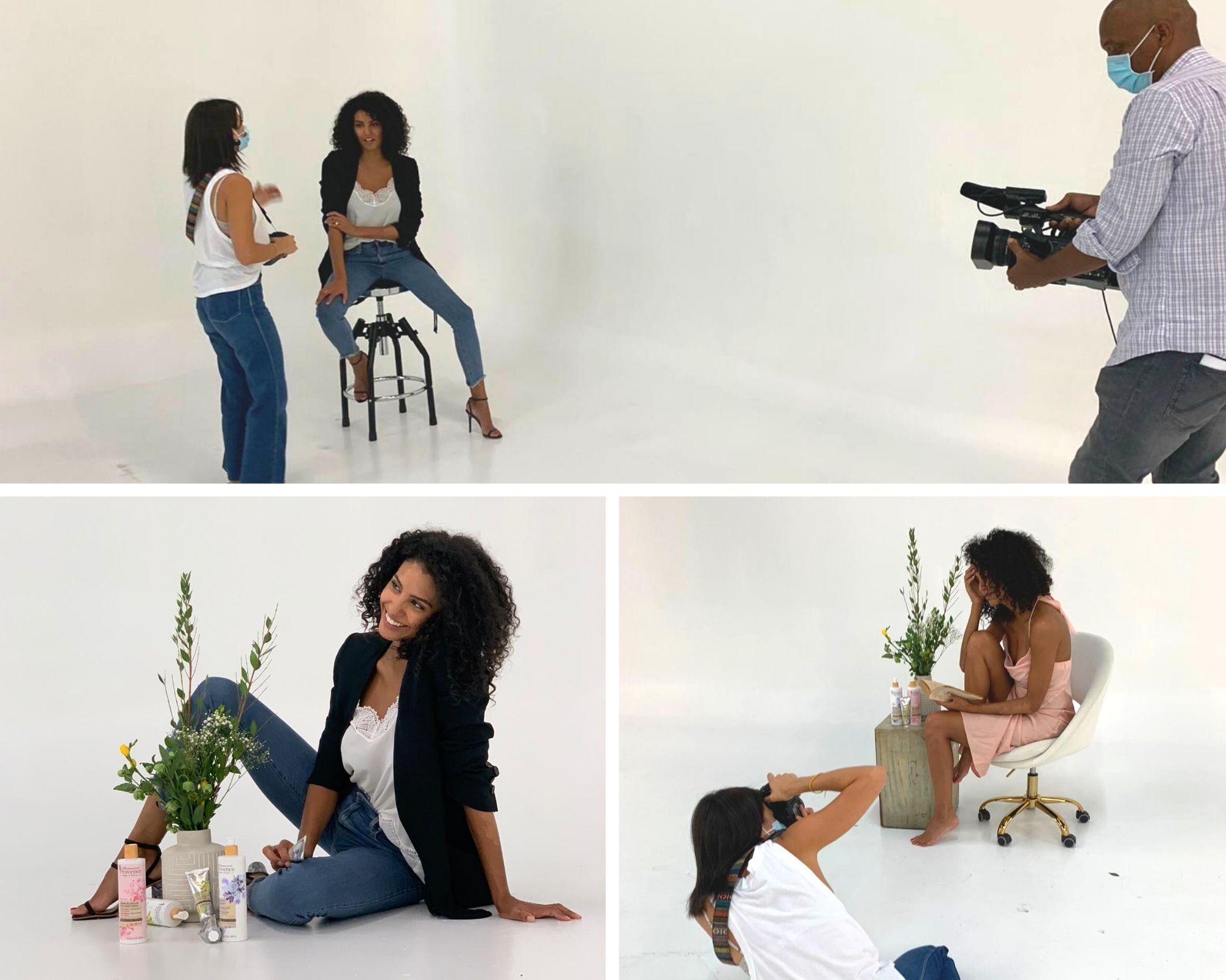 Behind the scenes - Shooting Photo - C8
