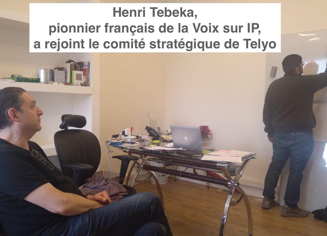 Henri Tebeka chez Telyo