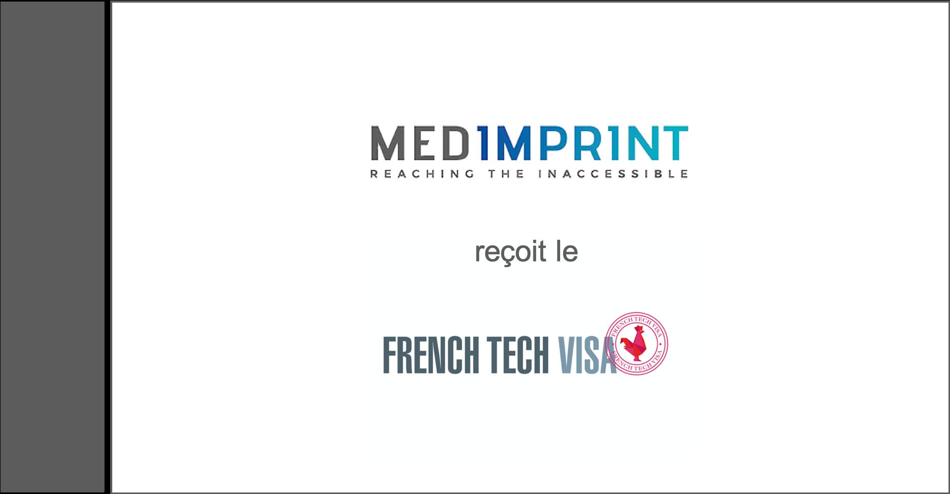 Medimprint reçoit le label VisaFrenchTech