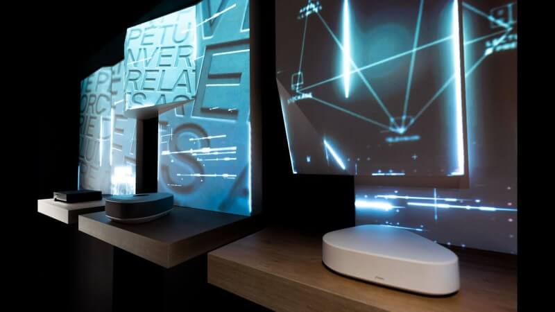 Digital Essence - Retail installation - Projection mapping