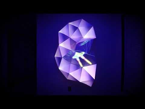 Video mapping on Olga kits - Jesse James Allen