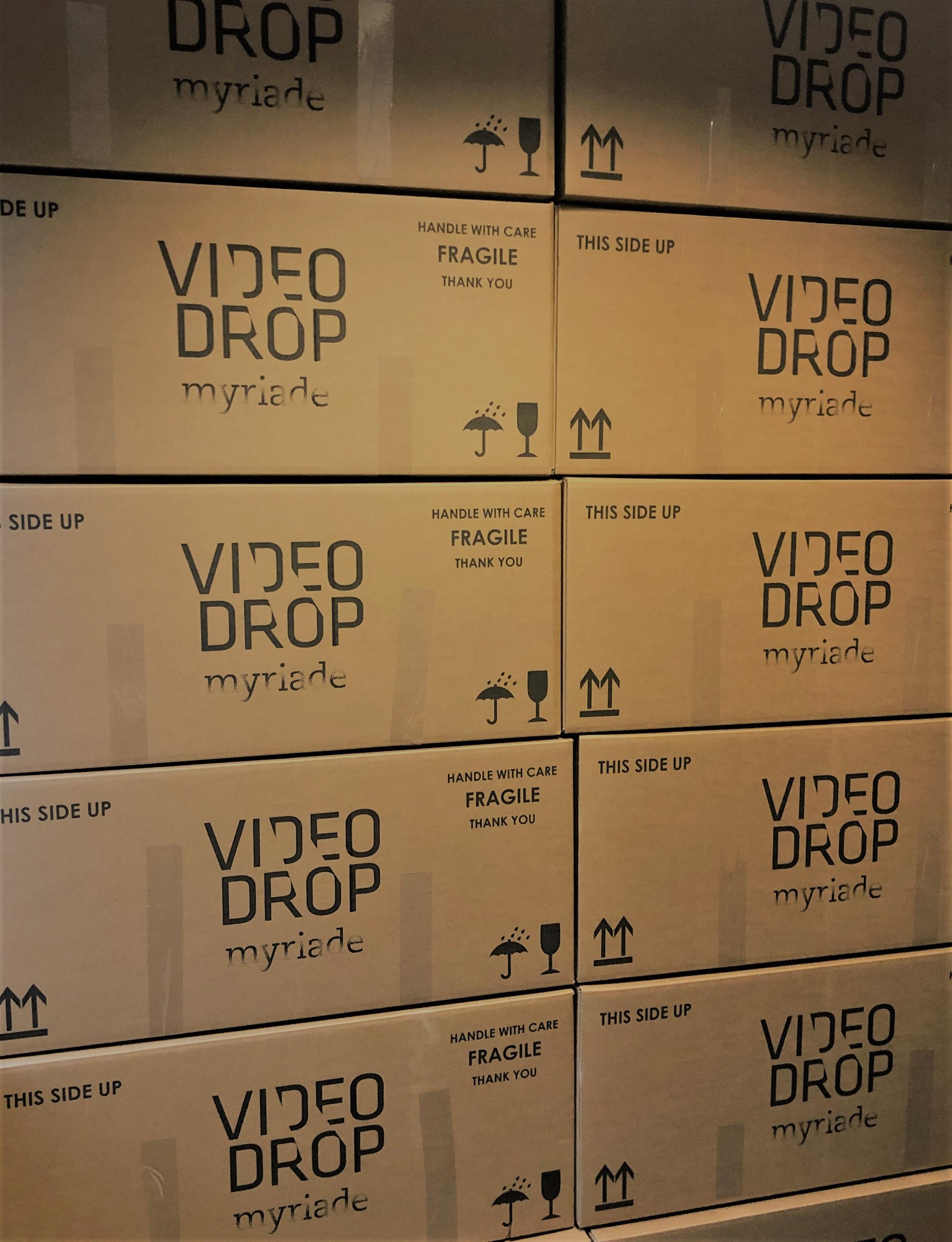 Tout est prêt pour la production des 25 prochains Videodrop!