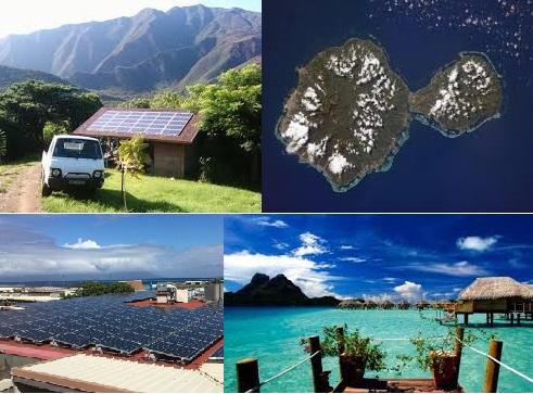 Le solaire en Polynésie Française
