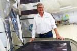 Voile solaire, l'industrie se fournit chez les voiliers