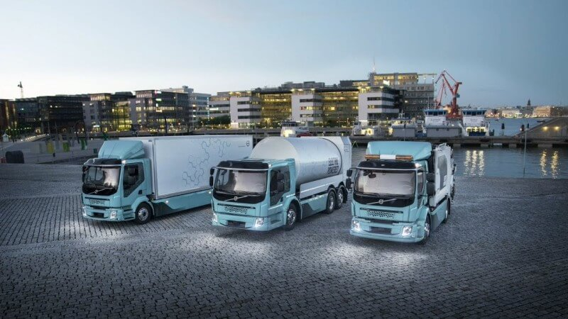 Volvo Trucks – Our first fully electric trucks in action
