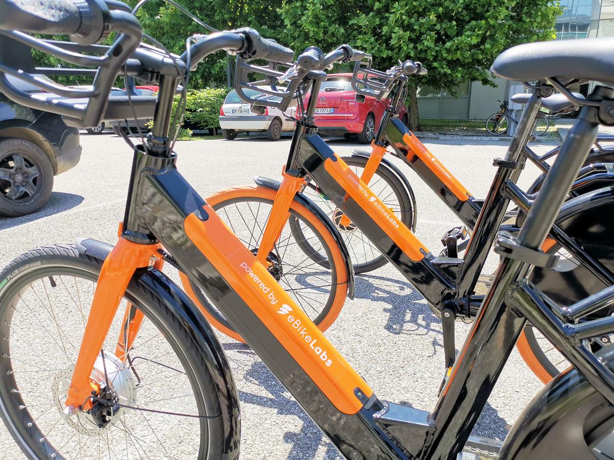 eBikeLabs, flottes de vélos électriques