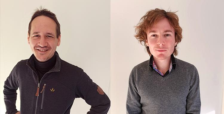 Léonard (à gauche) et Colin sont venus structurer et consolider une équipe R&D et innovation déjà bien musclée ;)