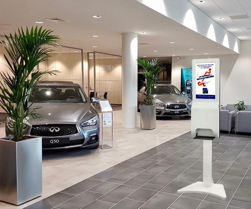 Partenariat chaîne nationale de concessionnaires Auto