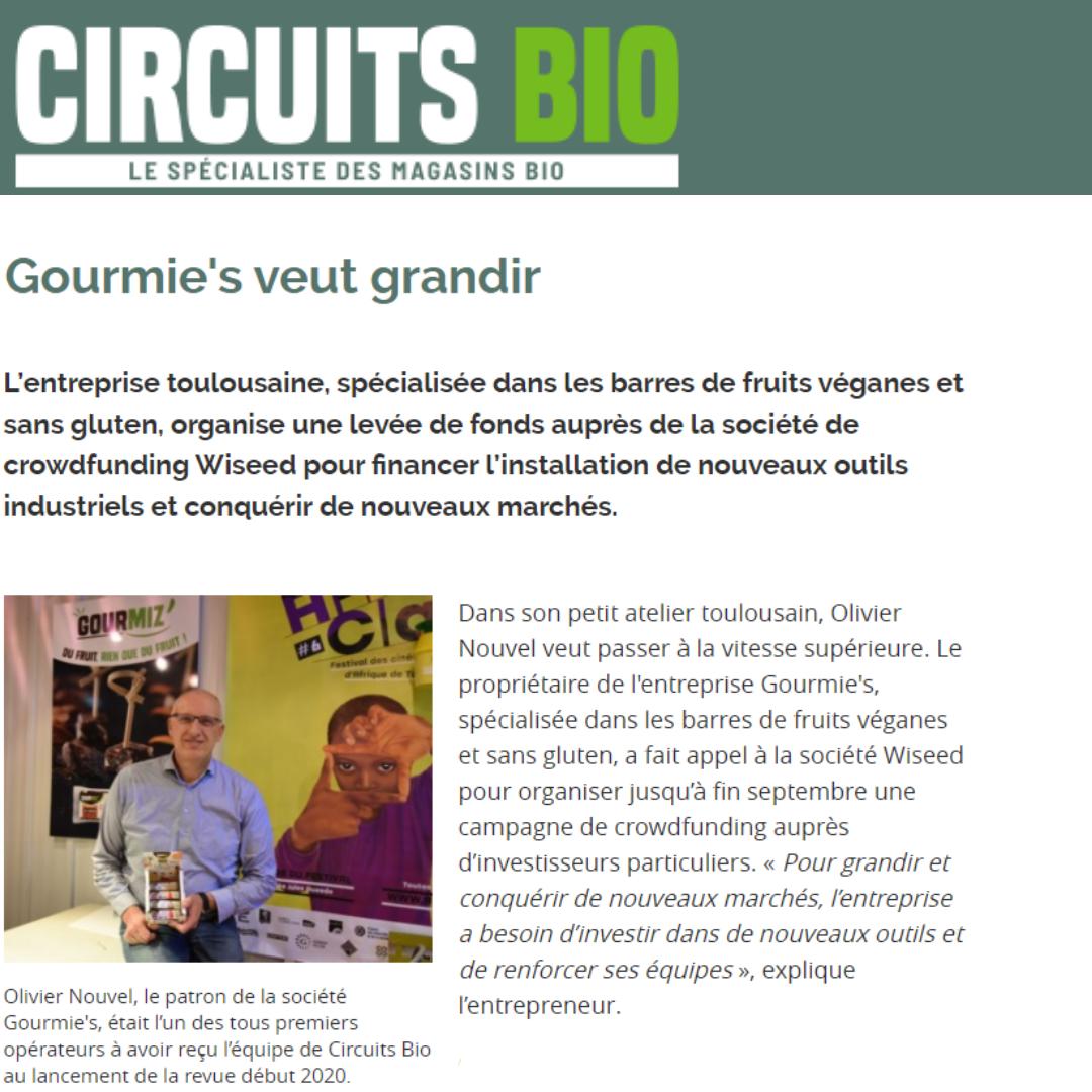 Gourmie's dans Circuits Bio