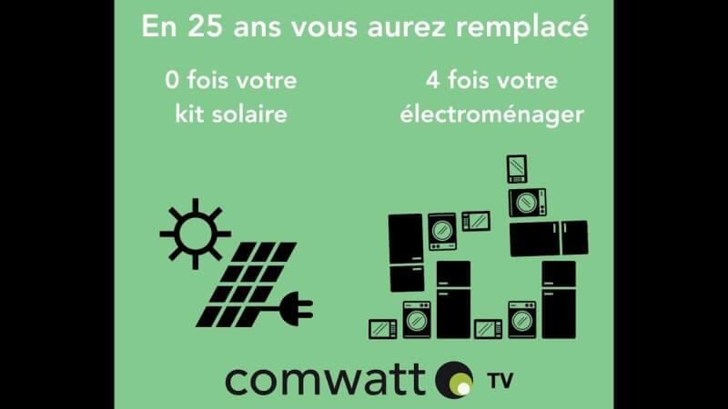 Pour lutter contre l'obsolescence programmée ..passez au solaire