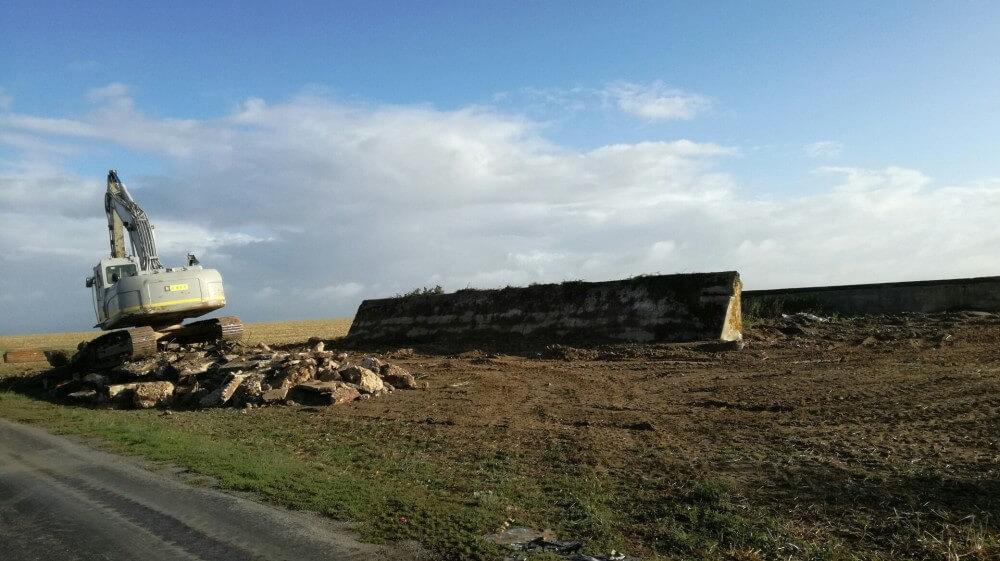 Destruction du Blockhaus