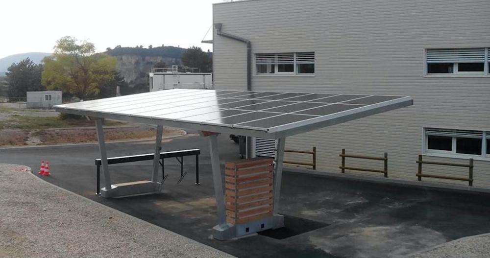 Station Multimodale solaire et intelligente - SunPod Auto