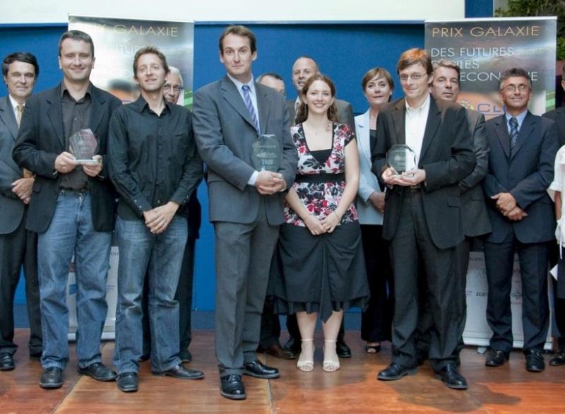 Les lauréats du prix Galaxie 2009