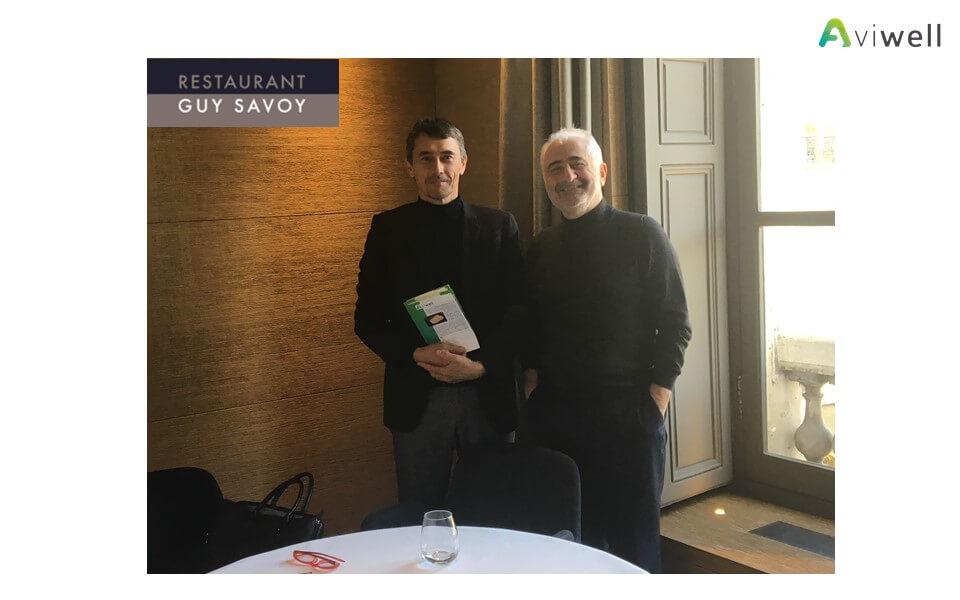 Rencontre avec Guy Savoy