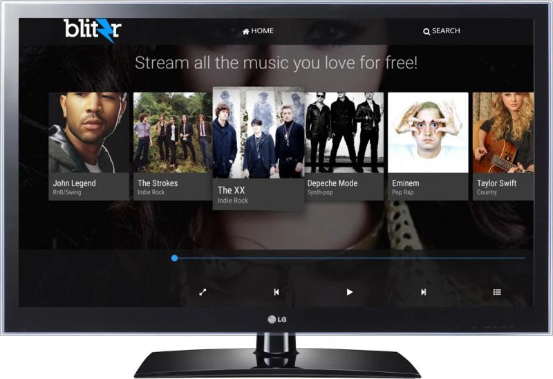 BLITZR sur Android TV