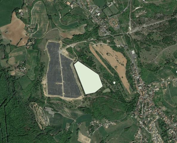 Vue satellite existant + projet extension (©Agence Vent d'autan - René Pierre Delorme)