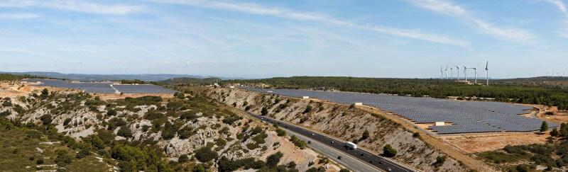 Centrale photovoltaïque de La Calade