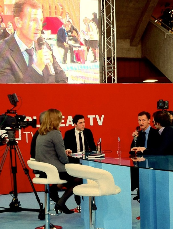 Plateau TV de Pollutec, remise des prix