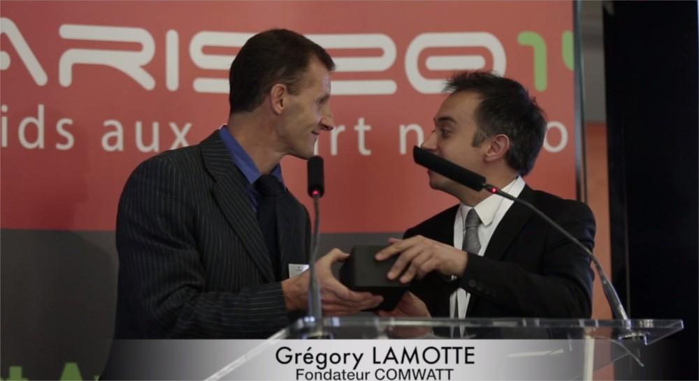 Remise du award le 11 juin 2014