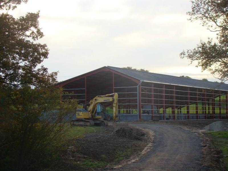 Batiment en cours de construction