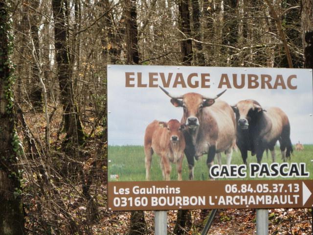 Pancarte du GAEC PASCAL