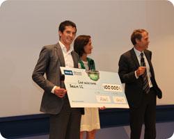 Solaire 2G remporte le 1er prix du Jury d'une valeur de 100 000€ !