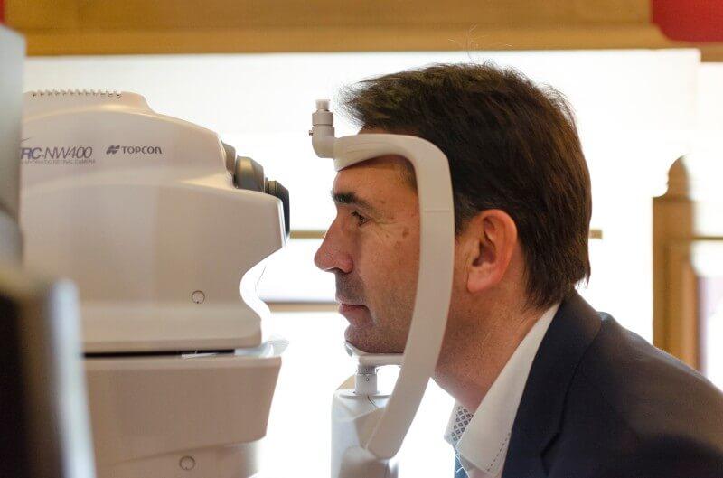 Examen réalisé par un orthoptiste