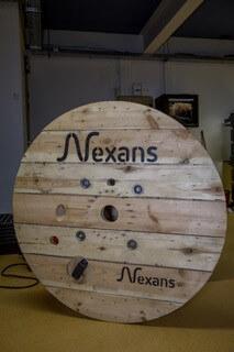 Device sur touret NEXANS