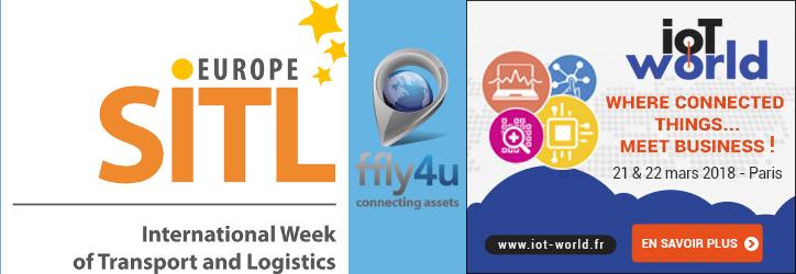 ffly4u participe au SITL et à l'IoT WORLD