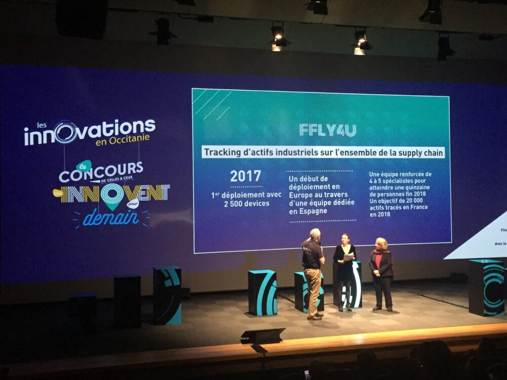 ffly4u remporte le prix de la Start-up de l'année !