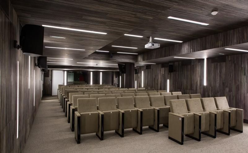 Auditorium Crédit Agricole - Paris - Panneaux acoustiques