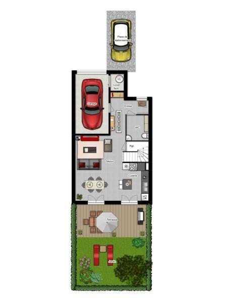 Maison T4 RDC