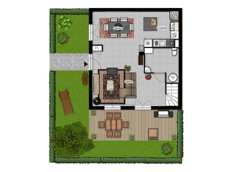 Villa Duplex RDC
