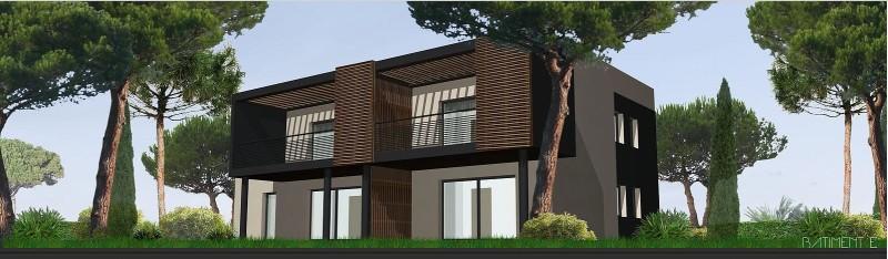 Perspective bâtiment E