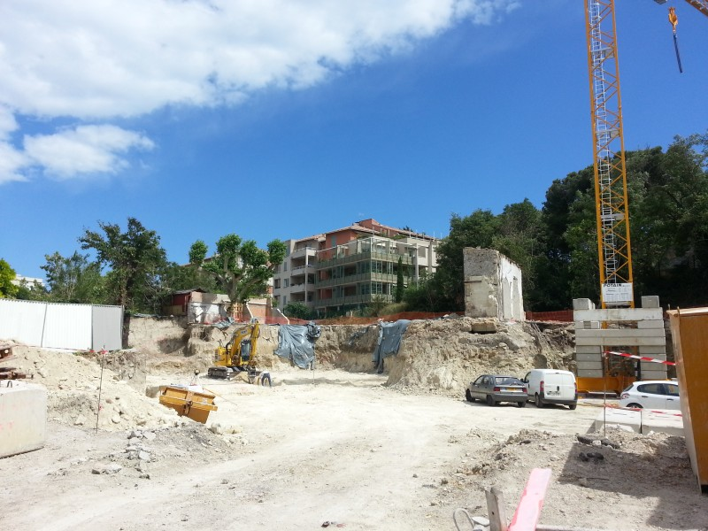 Avancement du chantier