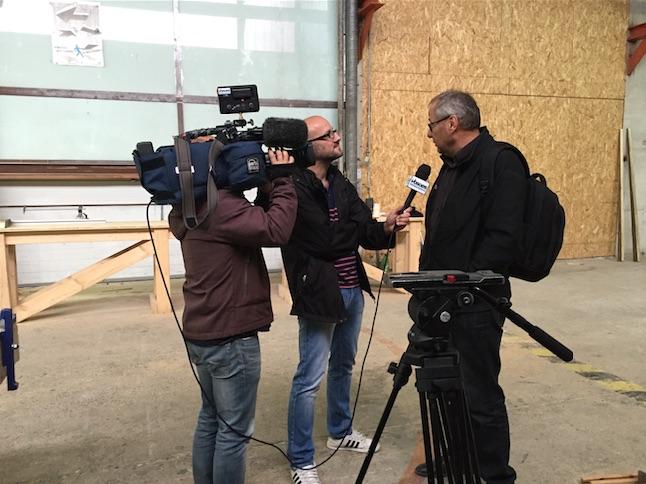 Leko à l'honneur sur Vosges TV