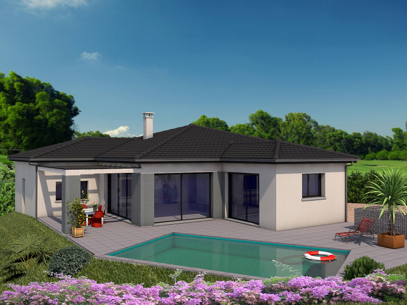 Maison FRALENE à construire sur les terrains