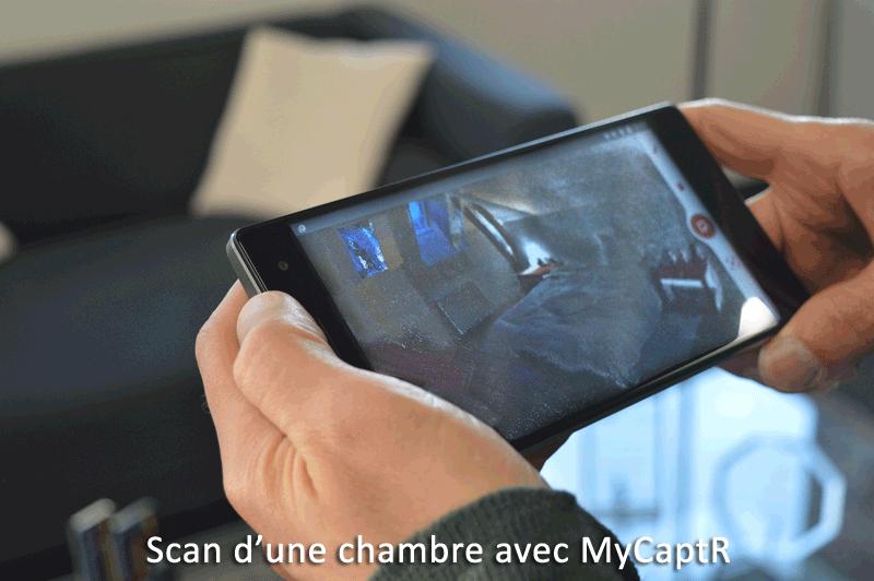 Scan avec MyCaptR - VF