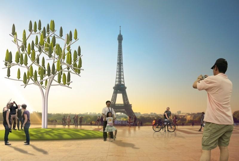 Paris accueille l'Arbre à vent en février 2015