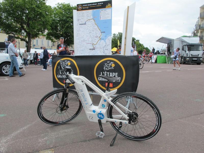 Alpha et Le Tour de France/Manche Tourisme