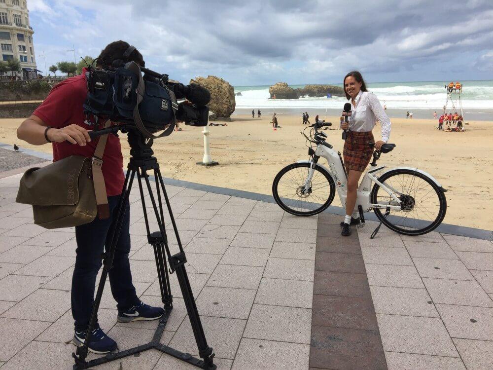Alpha en reportage pour TV7