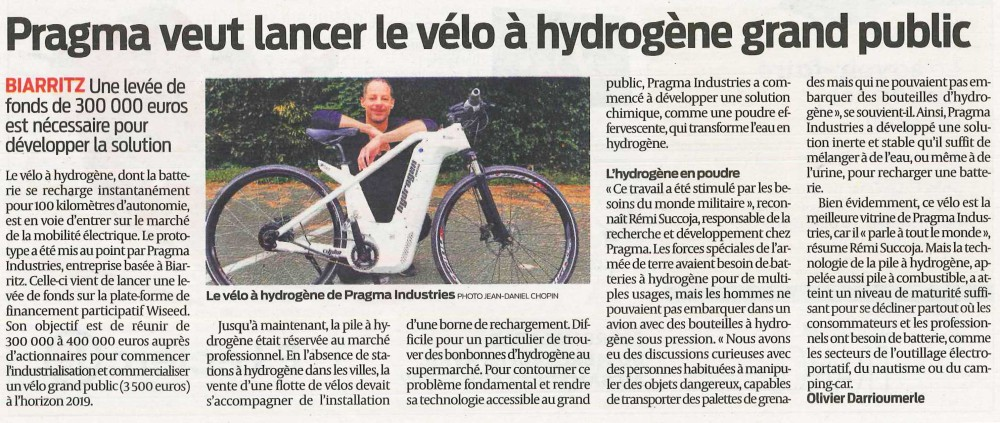 Article Sud-Ouest 27-04-2017