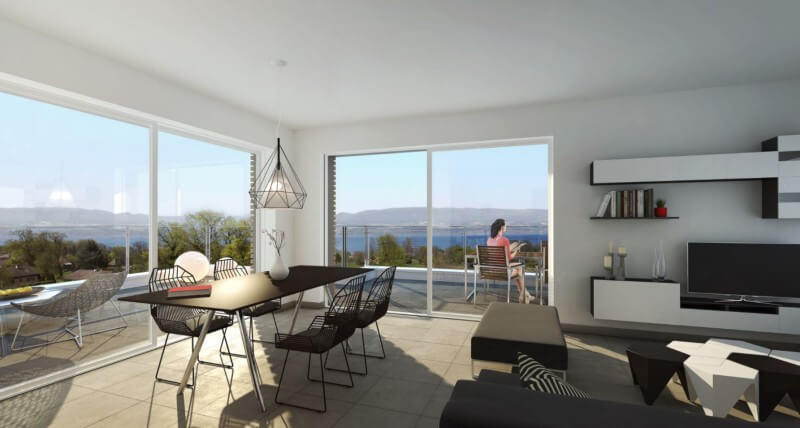 Perspective - Terrasse